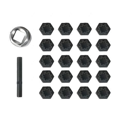 Beley 22 Teiliges Radschlossschlüssel Entfernungsset Für Bmw Serie Rad Diebstahlsicherung Radmuttern Schraubenentferner Steckschlüssel Werkzeug Set Gewerbe Industrie Wissenschaft