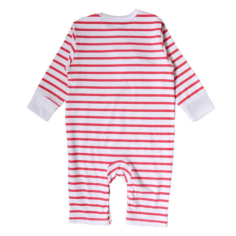 EsTong Baby Girls Boys Pure Cotton Long Sleeve Onesies I Love Mummy/&Daddy Romper Bodysuit