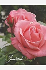 Journal: French Rose Garden Paperback