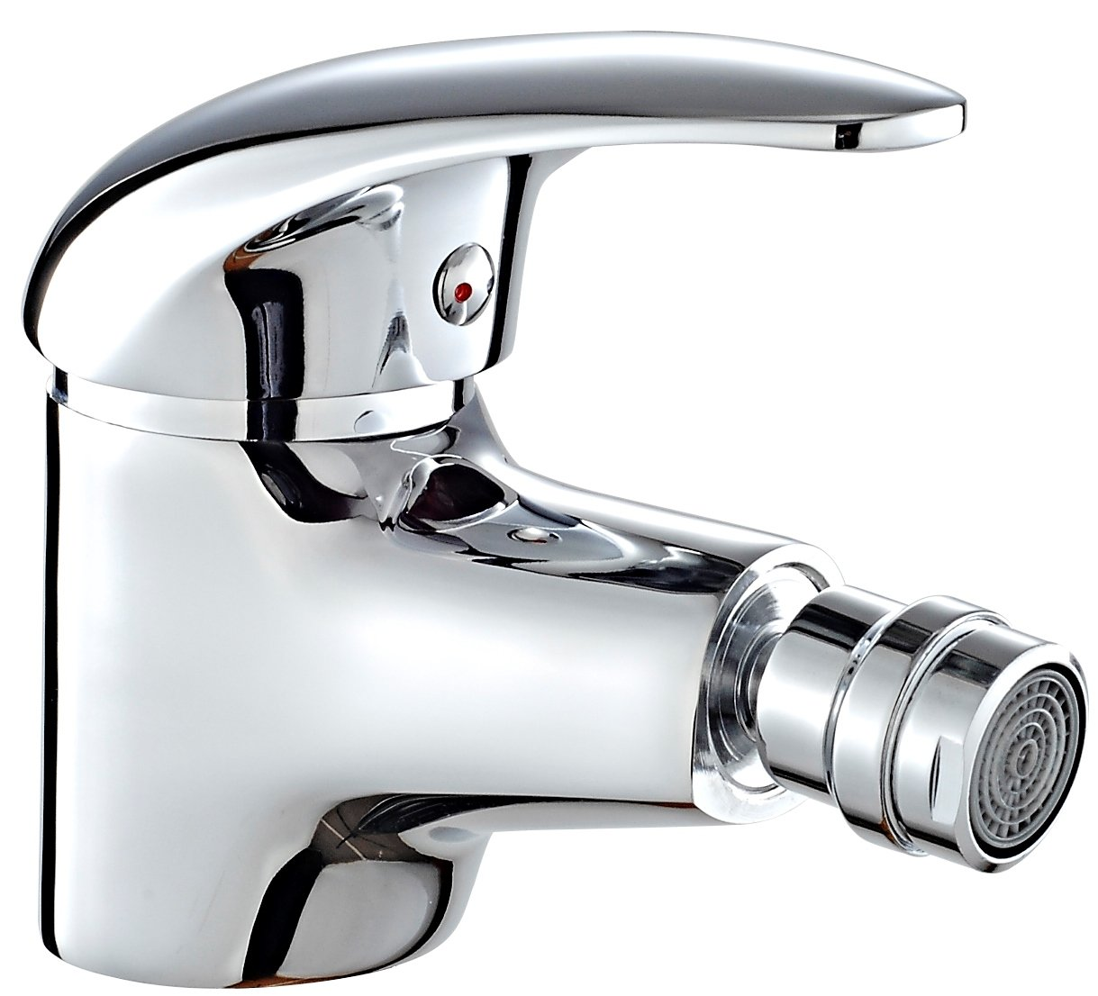 DP Bath Naranjo- Single lever bidet mixer tap, silver SN-0002