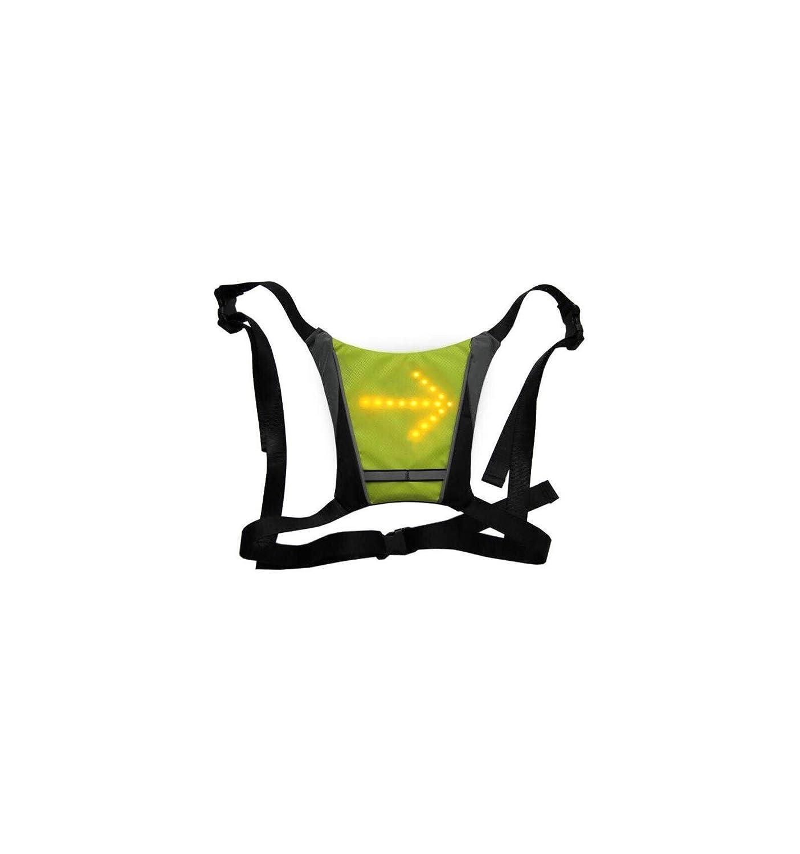 ornii - Chaleco Amarillo - dossard Intermitente LED ...