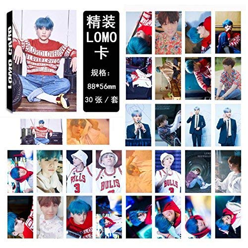 Kpop Bangtan Boys [Love Yourself ? 'HER' ] Photo Postcard Lomo Cards Set Gift for A.R.M.Y (H03)
