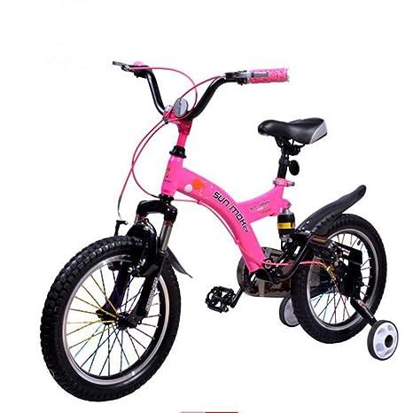Yixiny Bici Per Bambini Bicicletta Per Bambini 3 8 Anni Acciaio Ad