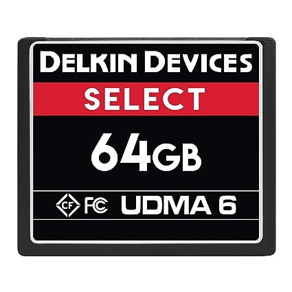 Delkin Devices 8GB Select CompactFlash UDMA 6 SIM Doble ...