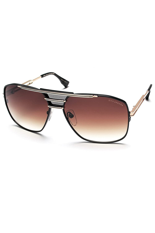 bd12393a6635 Dita Armada Drx 2045 B Gold Matte Black Size 62  Amazon.co.uk  Clothing