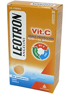 ANGELINI Leotron vitamina c 36 comp efervescentes
