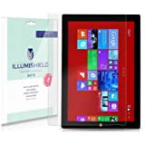 iLLumiShield - Microsoft Surface Pro 3 Screen Protector / Anti-Glare (Matte) HD Clear Film / Anti-Bubble & Anti-Fingerprint / Premium Japanese High Definition Invisible Crystal Shield - Free LifeTime Warranty - [2-Pack] Retail Packaging