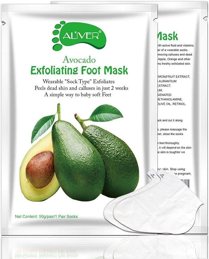 Pie máscara, mml Papaya de aguacate aceitunas eliminar piel ...