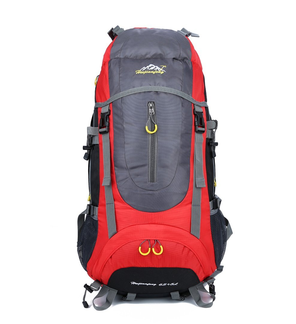 Seonaw Große Kapazität 45 + 5L Outdoor Trekking Bag Bergsteigenbeutel Spritzwassergesch