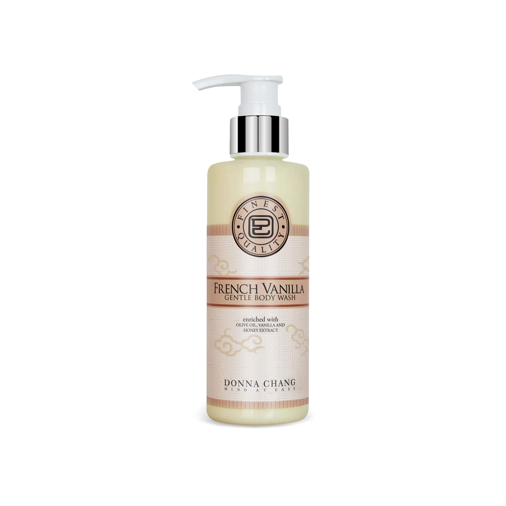 DONNA CHANG French Vanilla Gentle Body Wash 200 ml. (4 Pack)