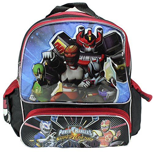 "Power Rangers Super Legends Toddler 12/"" Backpack"