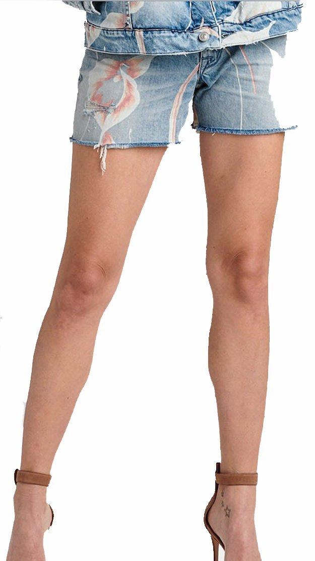 HUDSON Women's Short Valeri HIGH Rise Cut Off Jean Shorts INBM WR602DCX INBM (26)