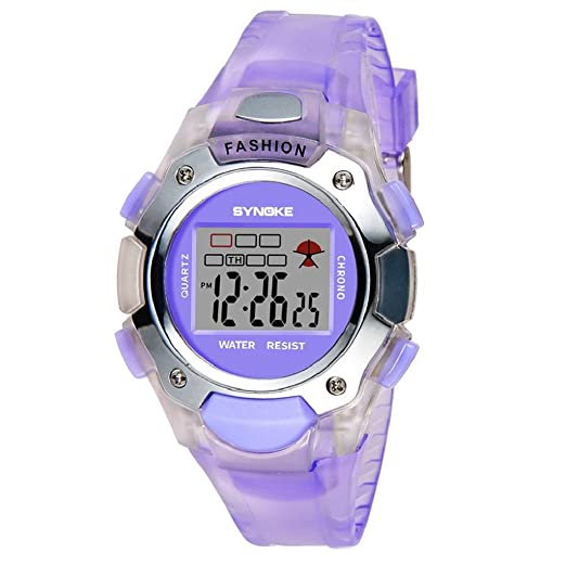 170f3a290988 QUICKLYLY Reloj Digital Infantil Deportivo