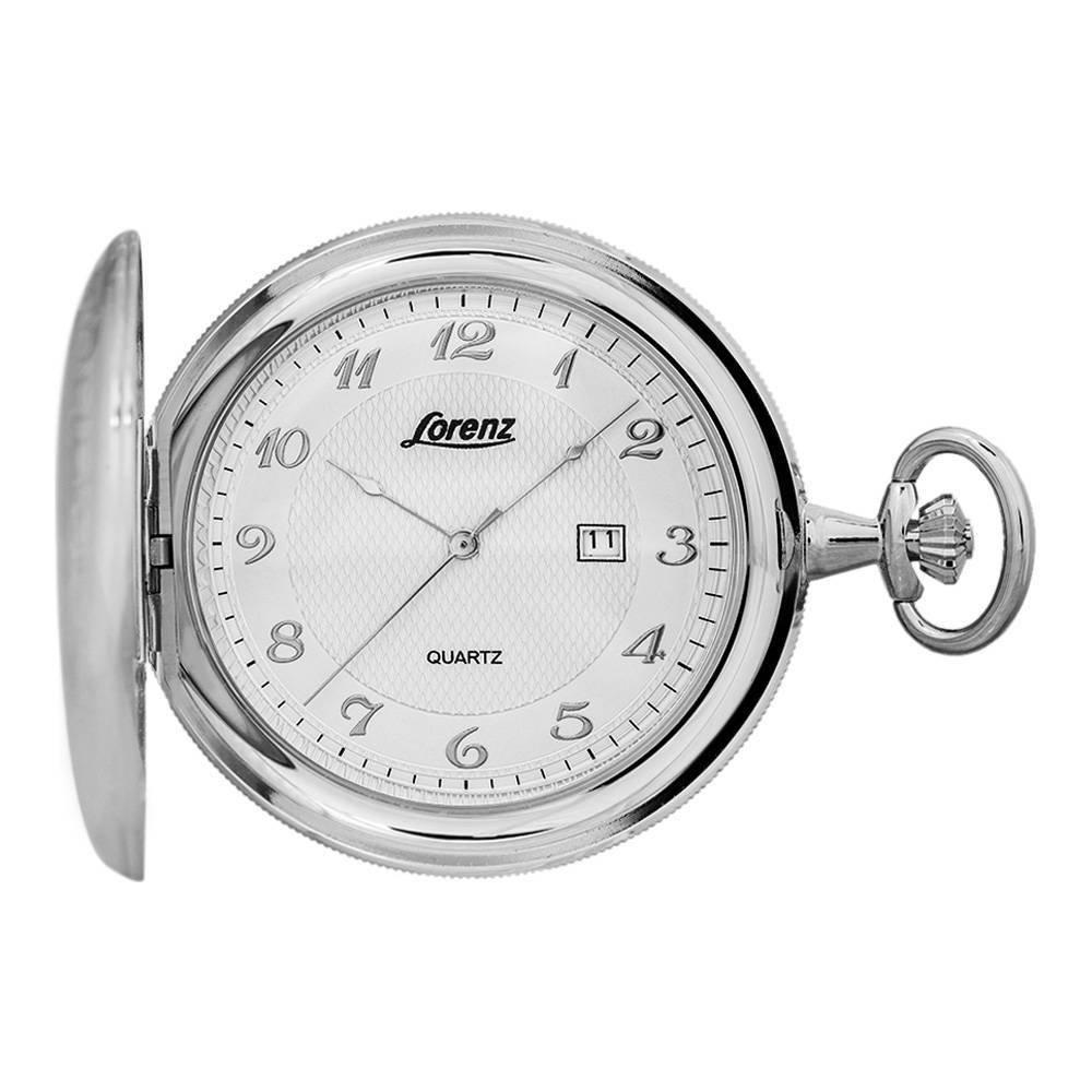 Lorenz 30037BB unisex quartz pocket watch