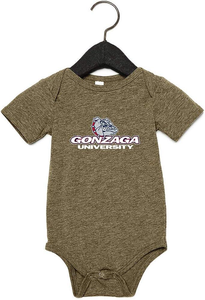 Official NCAA Gonzaga Bulldogs RYLGON06 Baby Short Sleeve One Piece