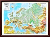 TestPlay High Raised Relief Europe 3D Map