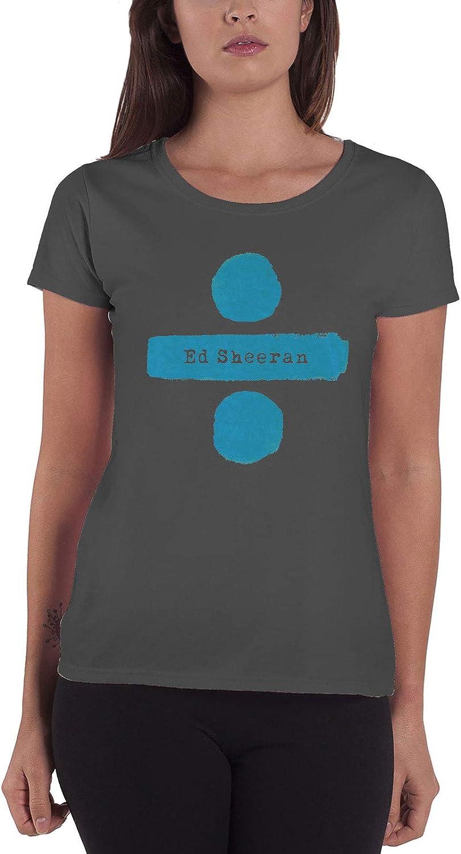 Ed Sheeran - Camiseta - Manga Corta - para Mujer