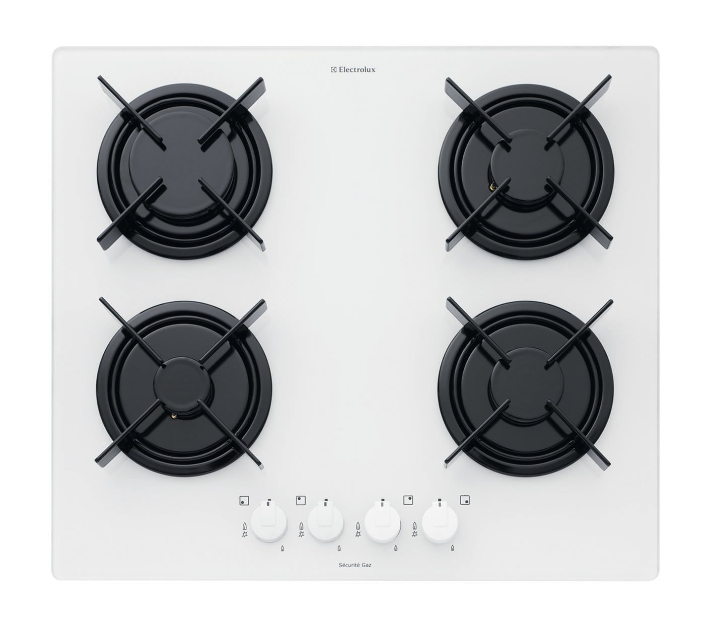 Electrolux eht6410 W Table de cuisson Gas Gas 59 cm: Amazon.es ...