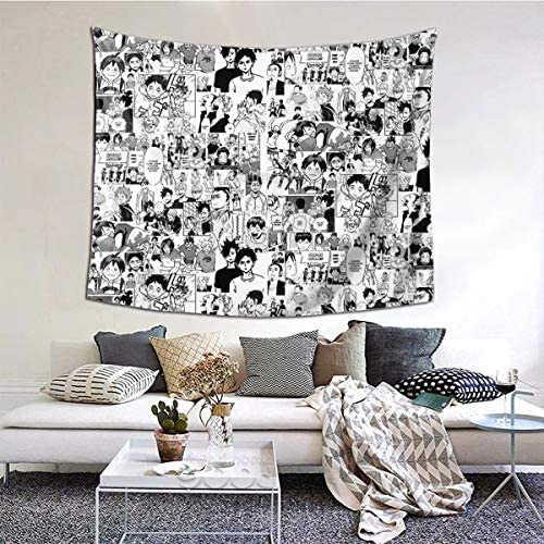KALISA Haikyuu Tapestry Wall Hanging Home Decor Art Wall Hanging, Mural For Bedroom, Living Room, Dorm, Home Decoration Wall Tapestry 60x51Inches