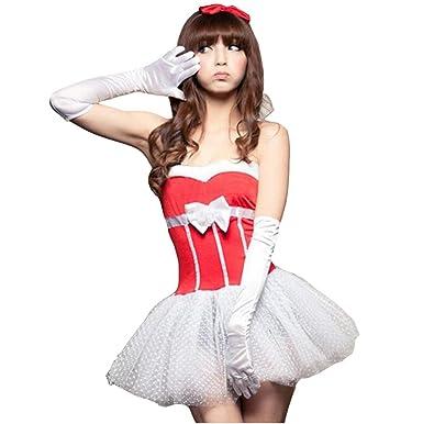 MNII Sexy Kleidung Kleid Mit Handschuhen Erwachsene Weiblich Bar ...