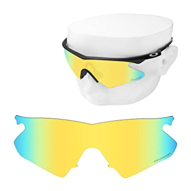 Amazon.com: OOWLIT Replacement Sunglass Lenses for Oakley M Frame ...