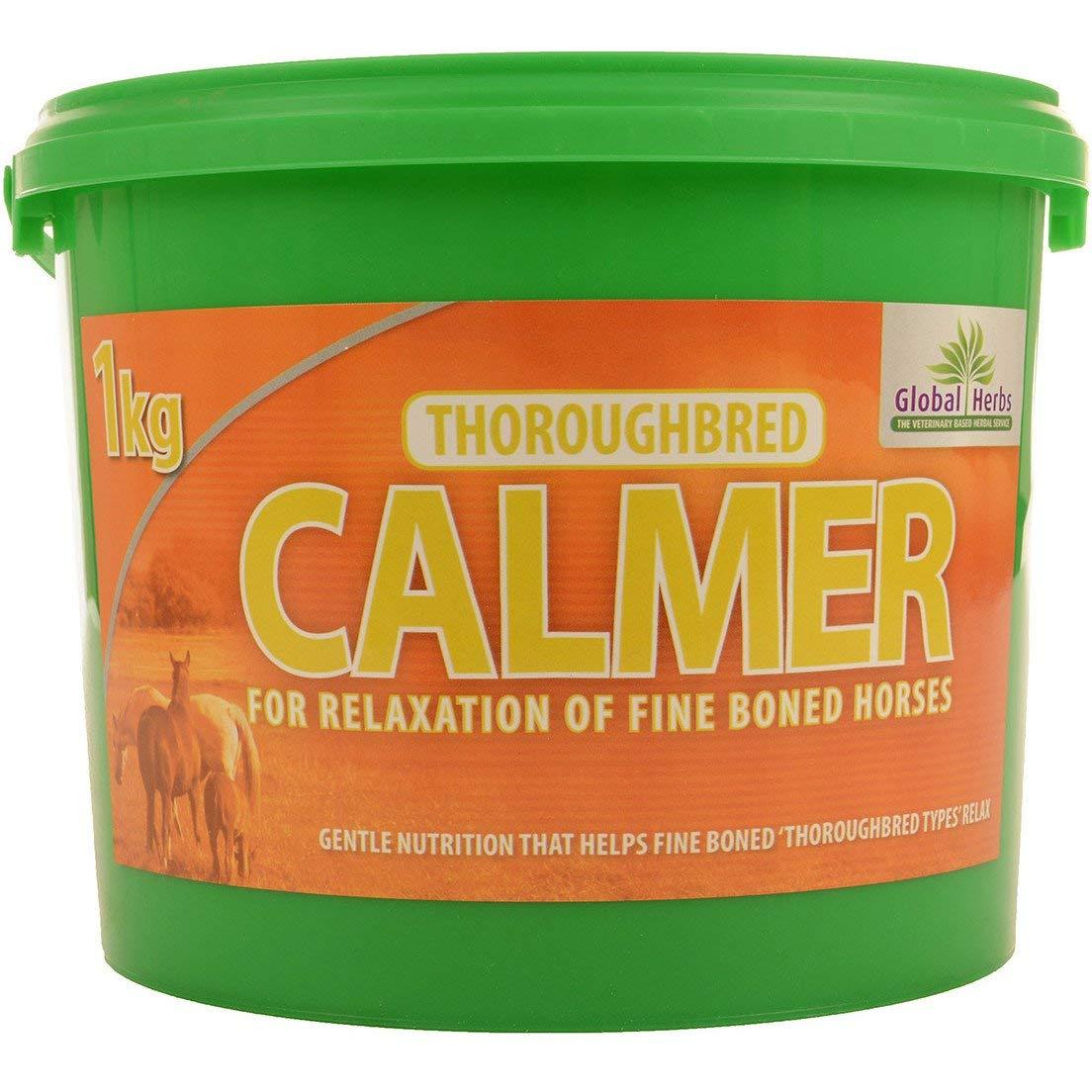 Global Herbs - Thoroughbred Calmer: 1kg by 3L Global Herbs