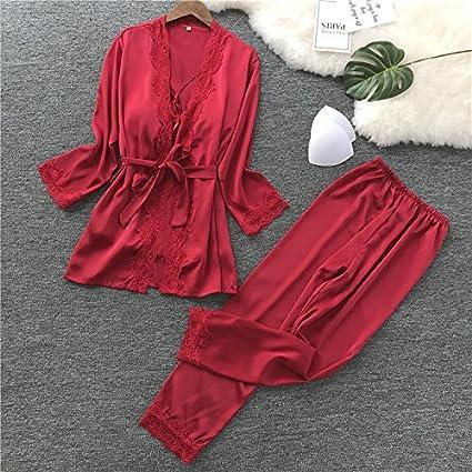 WDDGPZSY Camisa De Dormir/Camisón/Ropa De Dormir/Pijamas/Juego De Batas
