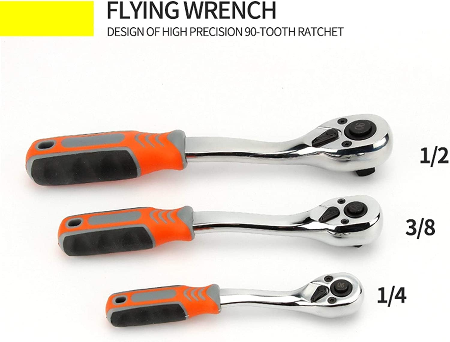 MZA Wearable Wrench, 90-tooth 1/4
