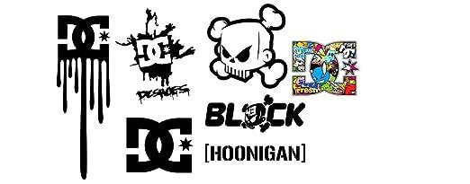 1 Set Ken Block Dc Shoes Hoonigan Aufkleber Sticker Decal Logo Die