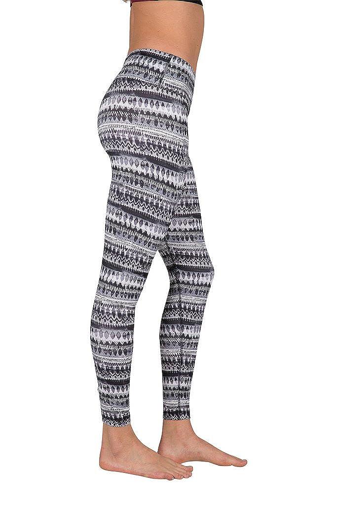 Printed Yoga Leggings PW7619 Performance Activewear 90 Degree By Reflex