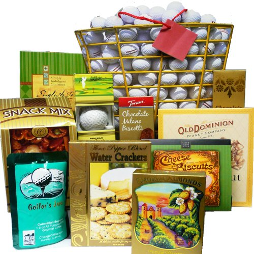 Tee Off Great Golfers Food & Snacks Gift Bag (Scheduled Delivery)