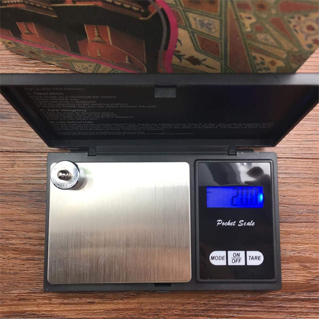 elektronisch f/ür Goldschmuck Zhangqian Digitale Personenwaage 0,01 Gewicht 500 g