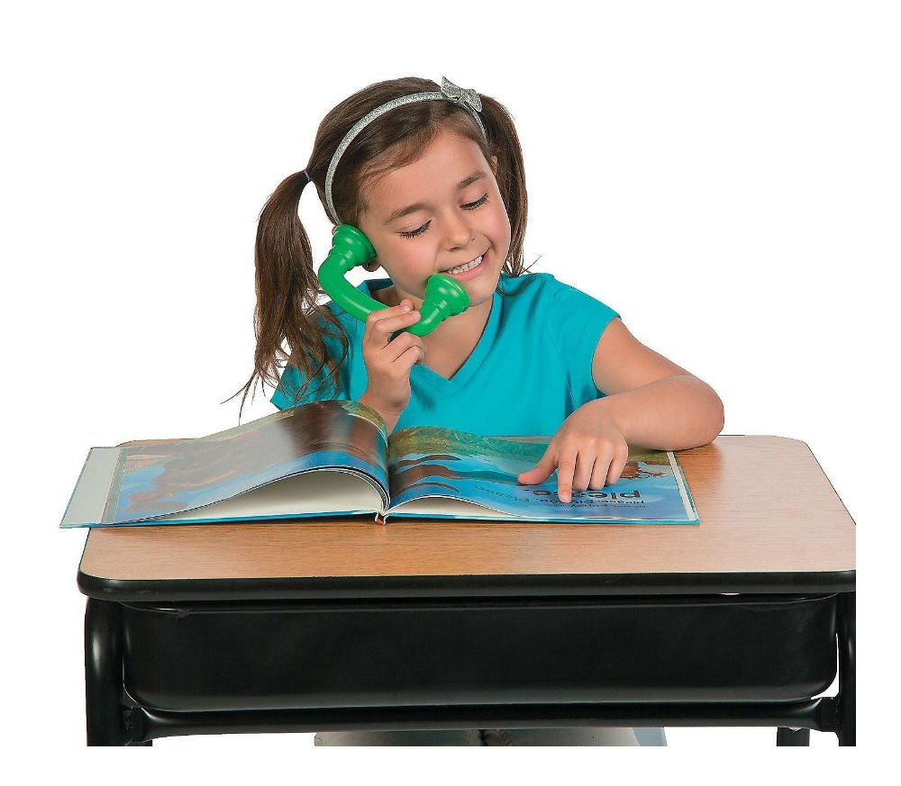 Unbranded 12 Reading Phones Auditory Feedback Whisper Phone Speech Therapy Read to Self
