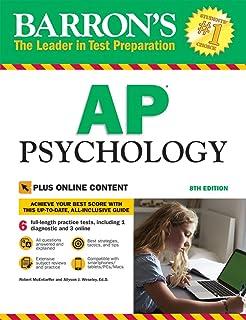 Amazon barrons ap psychology 7th edition 9781438007434 barrons ap psychology 8th edition with bonus online tests fandeluxe Gallery