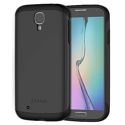 JETech Funda para Samsung Galaxy S4, Carcasa Protectora, Negro