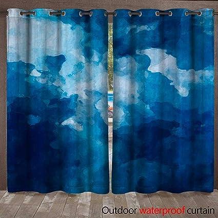 Amazon Com Blountdecor Blackout Curtain Abstract Art Dark