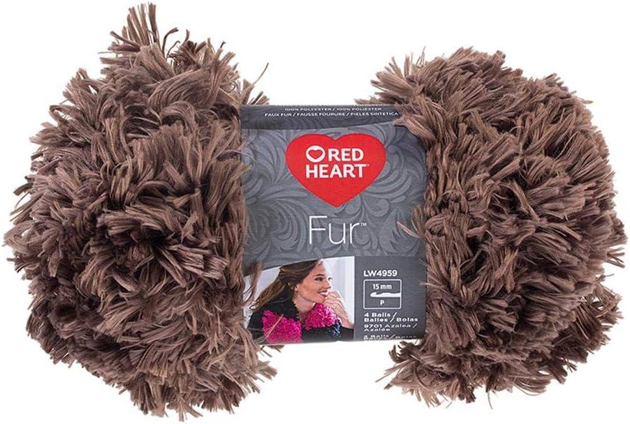 Red Heart Boutique Fur 3.5 oz
