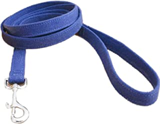 product image for The Good Dog Company-- Hemp Basic Canvas 6 Foot Leashes Available in Blue, Green, Red, Black,