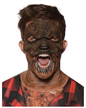 Hombre lobo Lycans media máscara