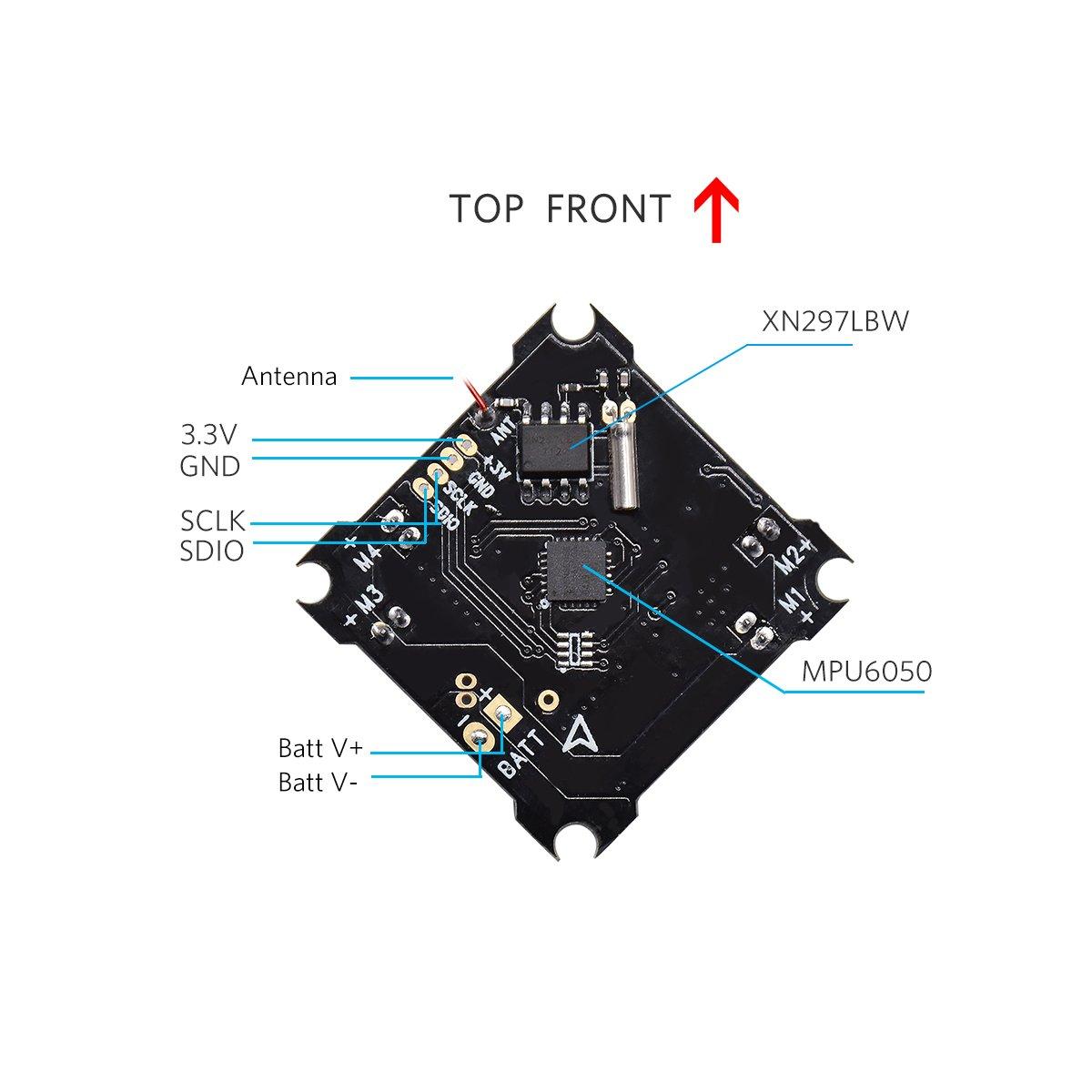 BETAFPV Lite Brushed Flight Controller Compatible with Sliverware ...