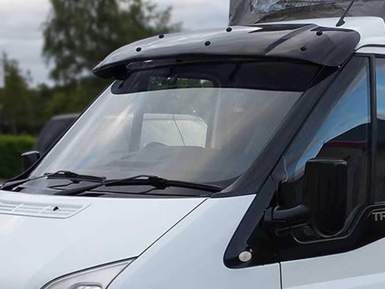 2000-2014 Van Demon Exterior Black Sun Visor Shield for Ford Transit MK6//7