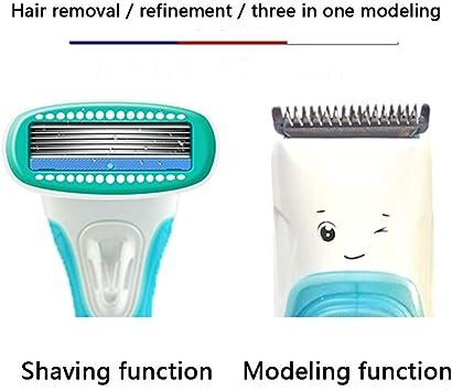 GYFSLG Depiladora Facial Mujer Electrica Afeitadora Removedor de ...