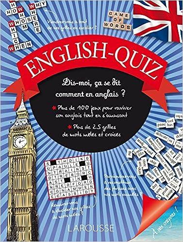 Livre English-quiz epub, pdf