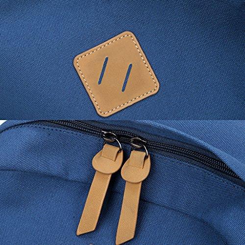 Dabixx Leaf Print Women Girls Canvas Backpack Schoolbags College Backpack Travel Bag Black Black