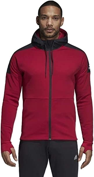 Lada miscelatore supporre  adidas Uomo M ID CH Sta FZ Felpe Rosso, XS: Amazon.it: Abbigliamento