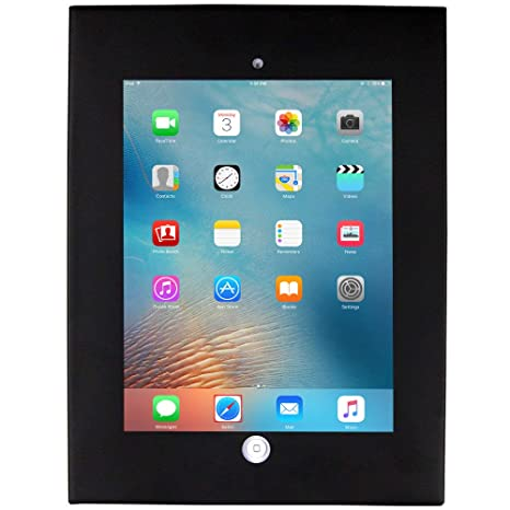 """all 9.7/"""" Ipads 3 4 Safe and Secure Wall Mount Display Stand for Ipad 1 2"""
