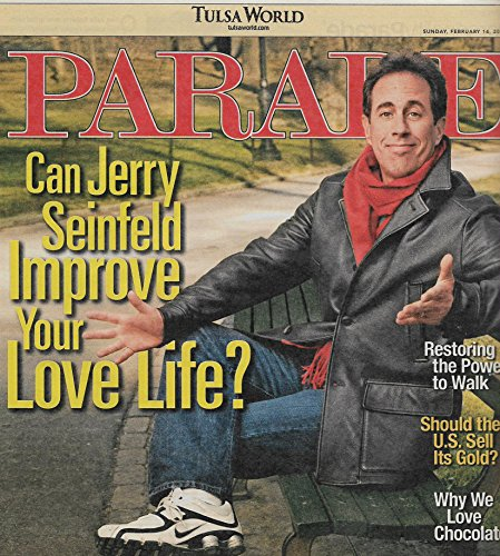 Jerry Seinfeld (The Marriage Ref) - February 14, 2010 Parade Magazine (Marriage Ref compare prices)