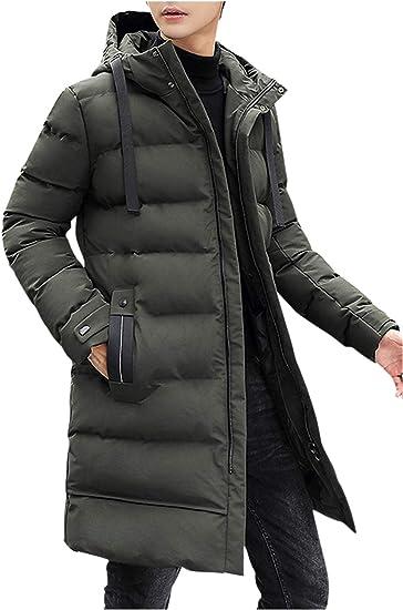 【在庫セール】 [ゴスファング] ダウンジャケット 中綿 ロング丈 ベンチコート カジュアル アウトドア 防寒 防風 メンズ