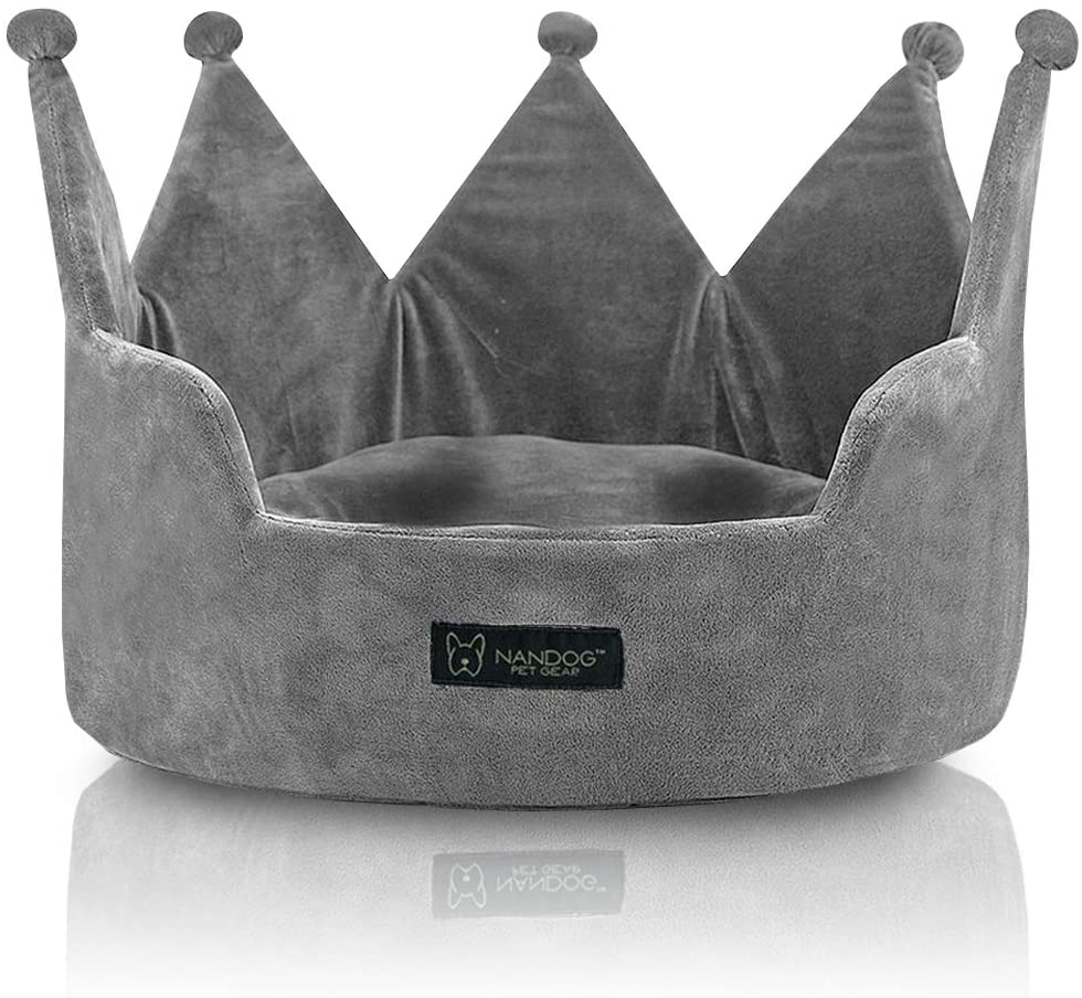 NANDOG PET Gear Crown Dog New Shipping Free Shipping and Deluxe Cat Collection Breed Small Bed for