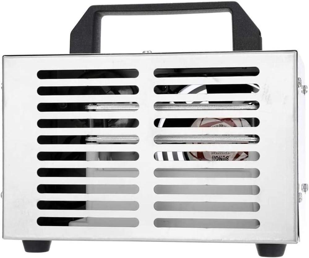 LALEO Generador De Ozono 20G M/áquina De Ozono Purificador De Aire De Acero Inoxidable Limpiador De Aire Esterilizaci/ón Limpieza Formaldeh/ído